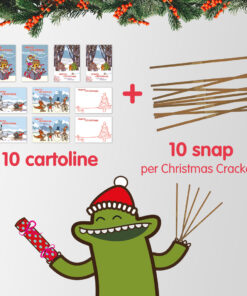 snap per realizzare in casa i christmas crackers